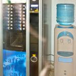 coffee and water machine